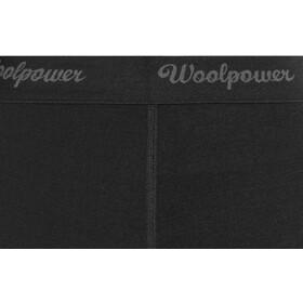 Woolpower Lite 3/4 Lang Ondergoed Dames, black